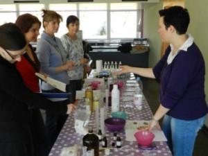 Cours de fabrication cosmétique naturel