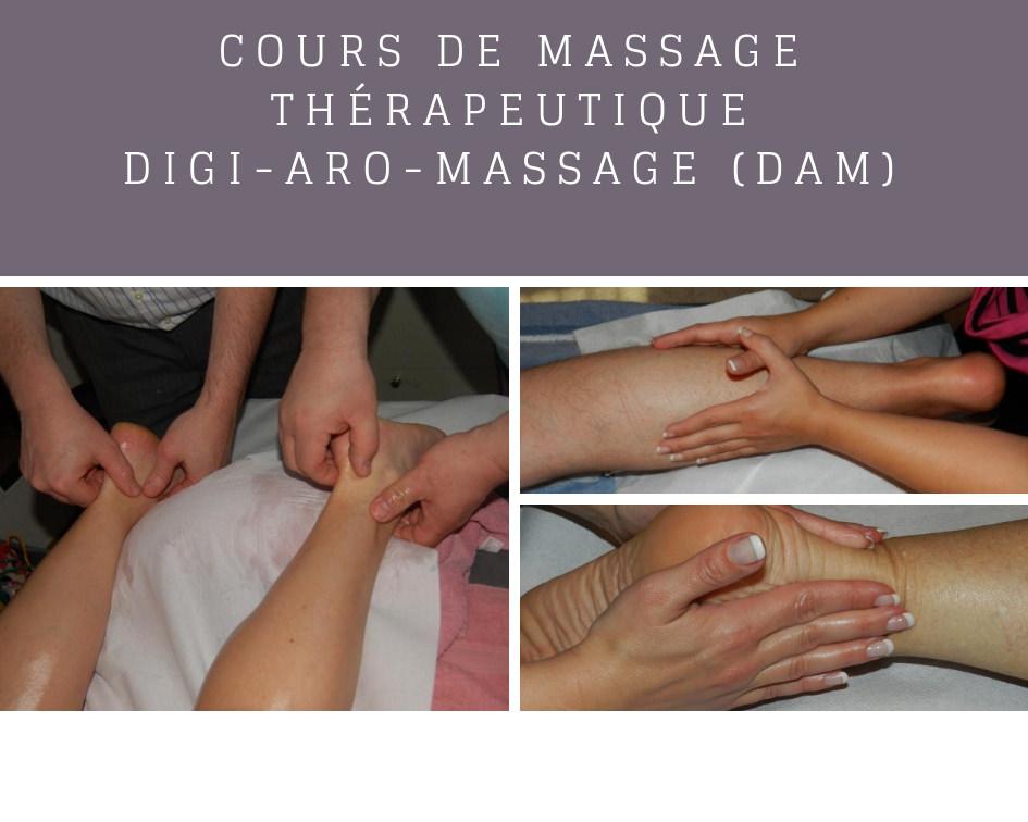 Cours massage thérapeutique méridiens et chakras
