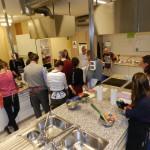 Atelier cuisine sympa entre amis ou collègues