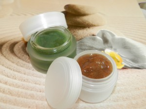 Masque gommage - Cours cosmétique naturel