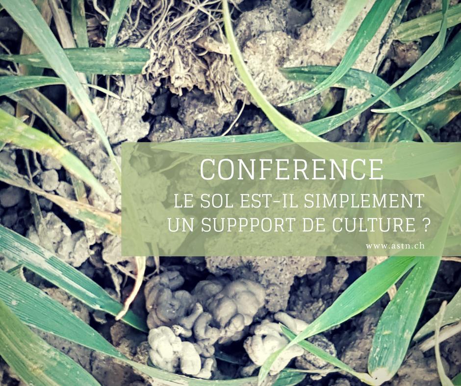 Conférence culture BIO