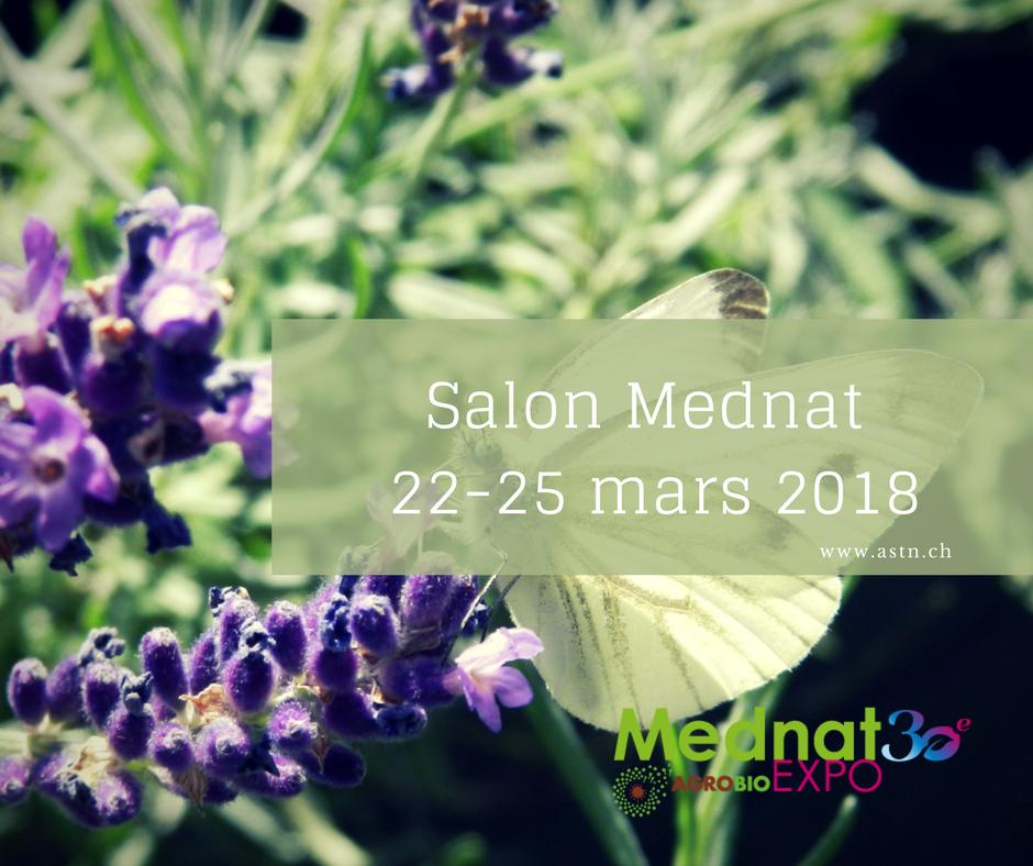 Salon Mednat 22-25 mars 2018 à Lausanne