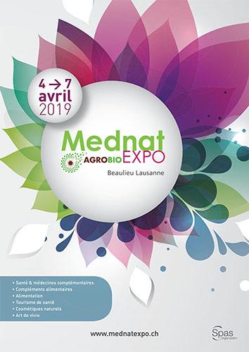 Affiche salon MEDNAT 2019