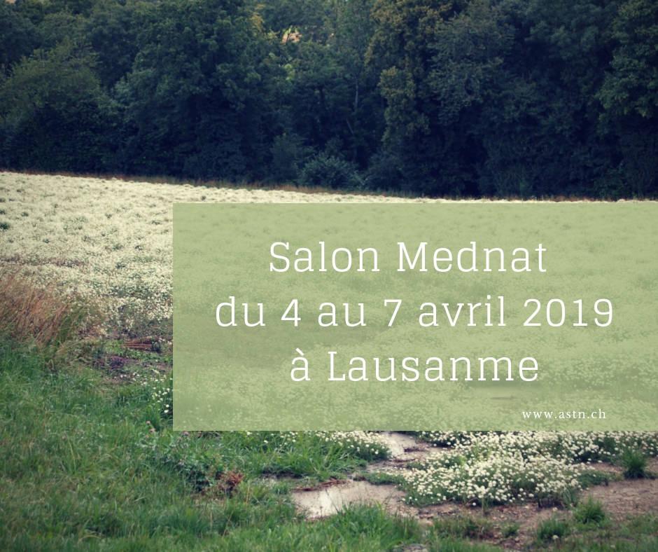 Salon mednat 2019 à Lausanne (médecines naturelles et complémentaires)
