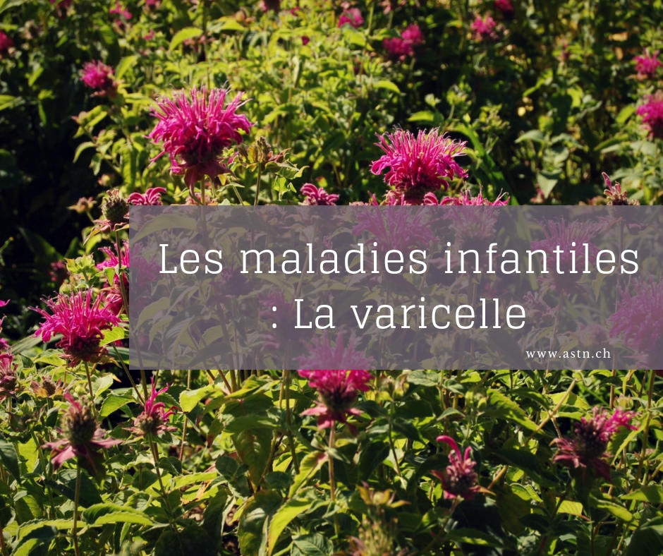 Traitement naturel maladie infantile : varicelle