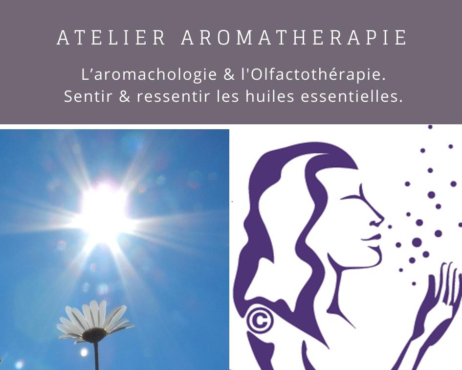 Atelier aromathérapie olfactothérapie