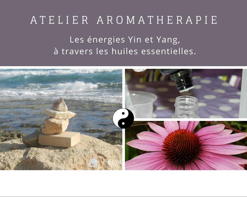 Atelier cours aromathérapie Yin et Yang