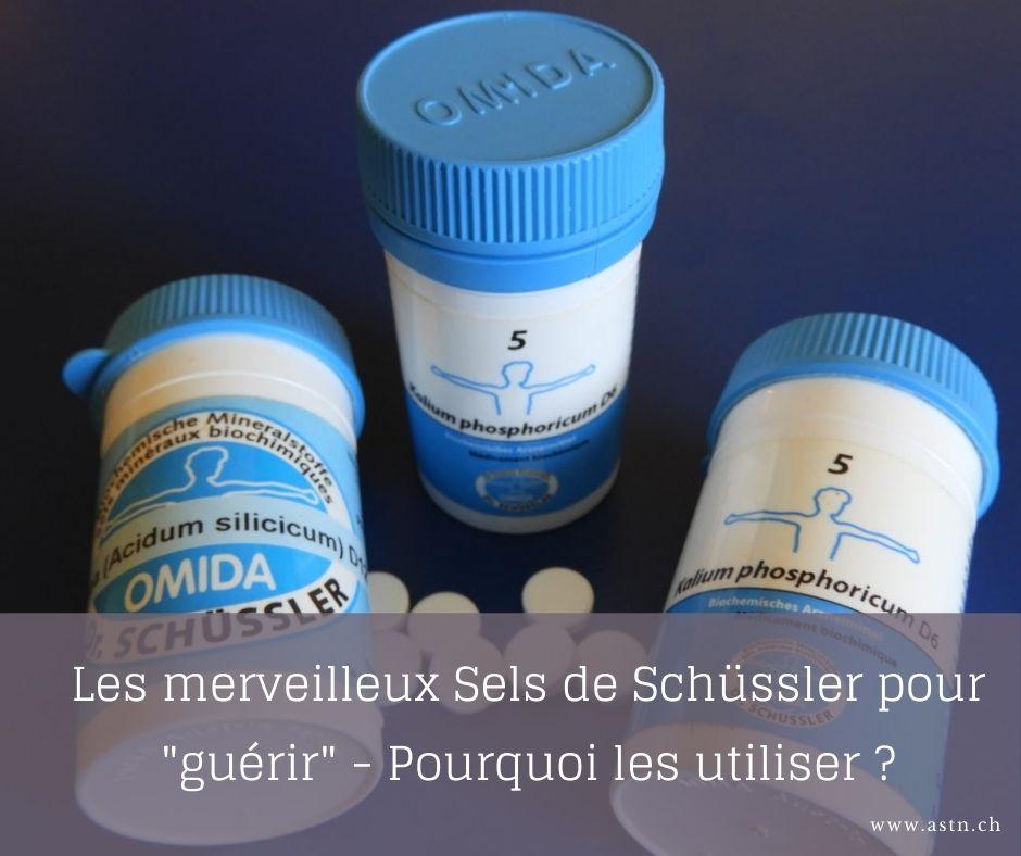 Les merveilleurs sels de schusslers, pourquoi les utiliser ?