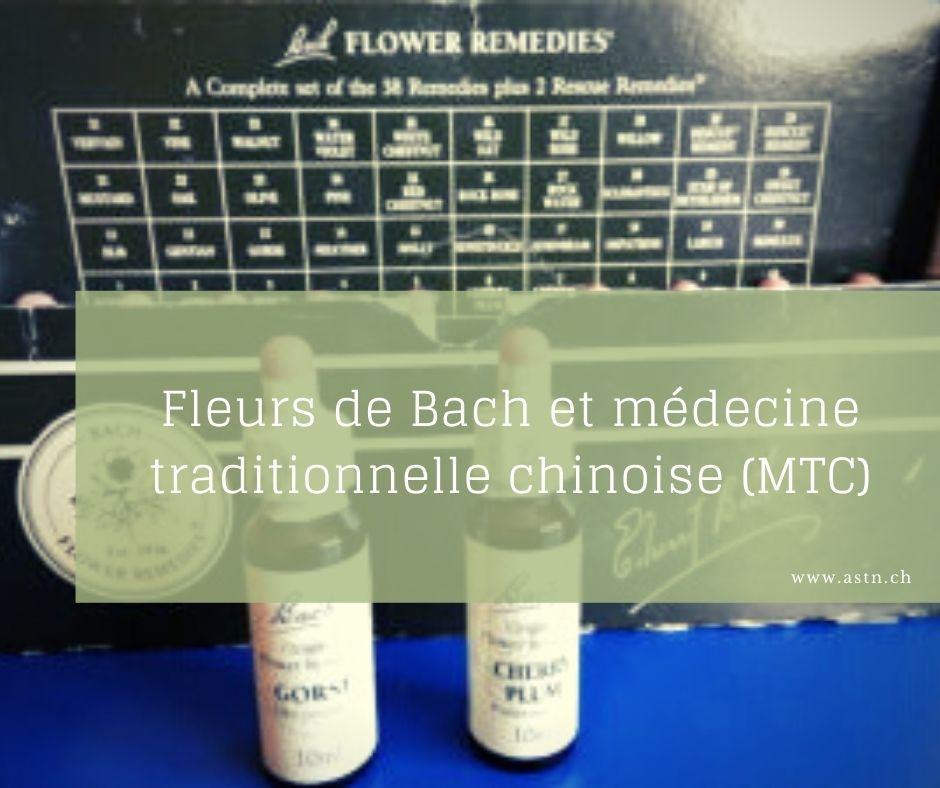 Fleurs de Bach et médecine traditionnelle chinoise MTC
